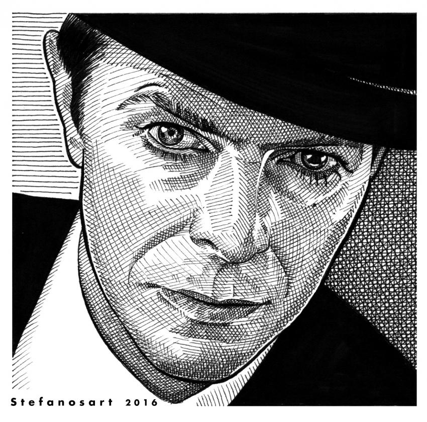David Bowie par Stefanosart